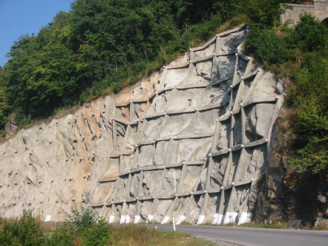 rock slope protection method a